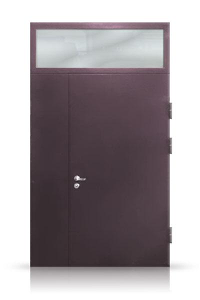 Metalinės durys su viršlangiu