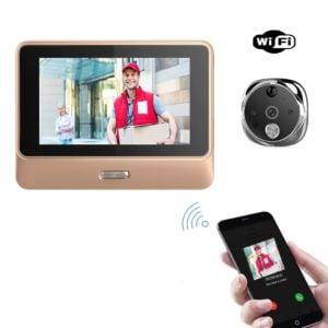 Wi-Fi durų akutė-skambutis