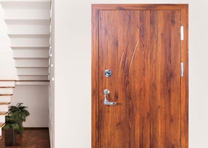 Šarvo durys butui