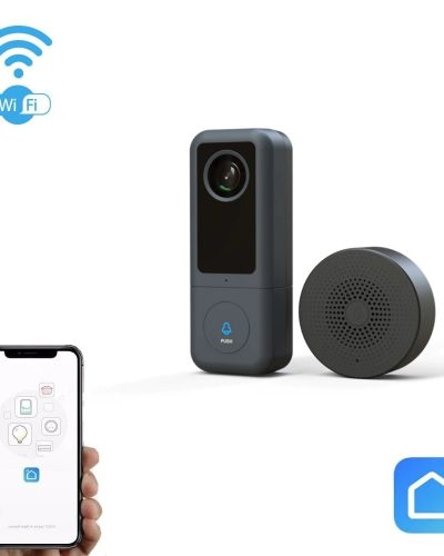 Išmanusis buto durų skambutis Wi-Fi SmartHome SLIM
