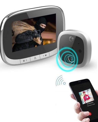 Išmanioji durų akutė-skambutis su Wi-Fi SmartHome